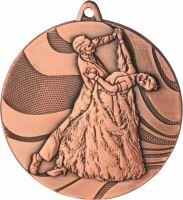 MMC2850/B - Medaila tanec (pr.50 mm, hr.3 mm) bronz