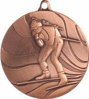 MMC4750/B - Medaila biatlon (pr.50 mm, hr.3 mm) bronz