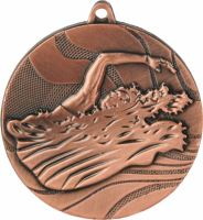 MMC2750/B - Medaila plávanie (pr.50 mm, hr.3 mm) bronz
