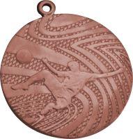 MMC1240/B - Medaila futbal (pr.40 mm, hr.2 mm) bronz