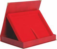BTY1810/R/R - Obal na diplom červený 30,5x24,5cm (pre dosky H154)