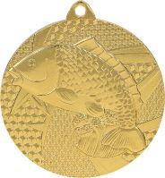 MMC7950/G - Medaila rybárstvo (pr.50 mm, hr.2 mm) zlato