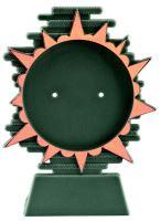 Figúrka plastová zakladná BLAZE H-13,5cm bronzová