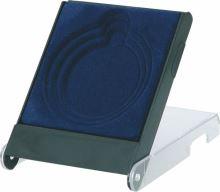 H1/BL - Púzdro na medailu 70mm 116x84x18mm modré (RP8114/BL)