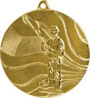 Medaila rybár (pr.50mm) zlato