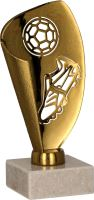 9081/B - Pohár futbal bronzový  H-13,5 cm