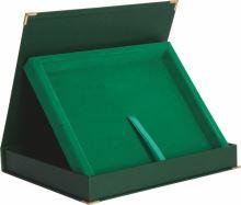 BTY1709/GN - Obal na diplom zelený 27,5x22cm (pre dosky H153)