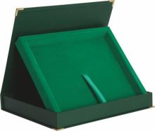 BTY1810/GN - Obal na diplom zelený 30,5x24,5cm (pre dosky H154)