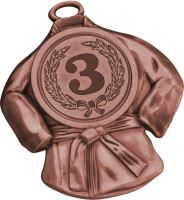 MD6050/B - Medaila kimono (pr.50 mm, hr.2 mm) bronz