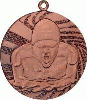MMC1640/B - Medaila plávanie (pr.40 mm, hr.2 mm) bronz