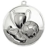 Medaila futbal (pr.50mm) striebro
