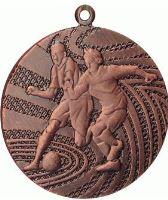 MMC1340/B - Medaila futbal (pr.40 mm, hr.2 mm) bronz