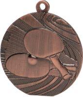 MMC1840/B - Medaila stolný tenis (pr.40 mm, hr.2 mm) bronz