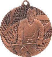 MMC6750/B - Medaila hokej (pr.50 mm, hr.2 mm) bronz