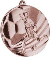 MMC5055/B - Medaila futbal bronz H-3 cm, R-50 cm