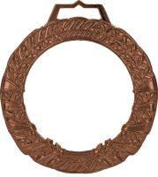 MGM9060/B - Medaila sklenená s puzdrom (pr.90mm) bronz