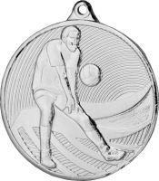 Medaila volejbal (pr.50mm) striebro