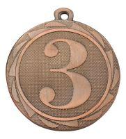"BS.ME103/B - Medaila umiestnenie ""3"" (pr.45 mm, hr.2mm) bronz"