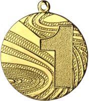 "MMC6040/G - Medaila ""1"" (pr.40 mm, hr.2 mm) zlato"