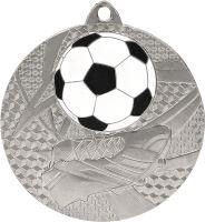 MMC6950/S - Medaila futbal (pr.50 mm, hr.2 mm) striebro