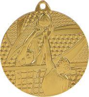 MMC7650/G - Medaila volejbal (pr.50 mm, hr.2 mm) zlato