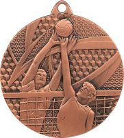 MMC7650/B - Medaila volejbal (pr.50 mm, hr.2 mm) bronz