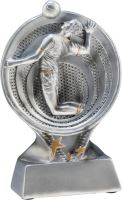 RS1300 - Figúrka odlievaná strieborná volejbal H-13 cm