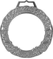 MGM9060/S - Medaila sklenená s puzdrom (pr.90mm) striebro