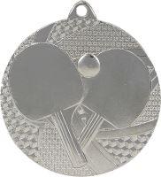 MMC7750/S - Medaila stolný tenis (pr.50 mm, hr.2 mm) striebro