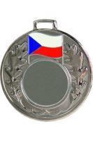 Medaila (pr.50mm) ČR striebro
