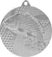 MMC7950/S - Medaila rybárstvo (pr.50 mm, hr.2 mm) striebro