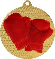 MMC6450/G - Medaila rukavice (pr.50 mm, hr.2 mm) zlato