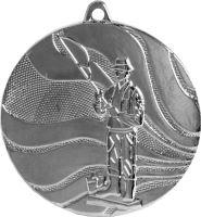 Medaila rybár (pr.50mm) striebro