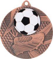 MMC6950/B - Medaila futbal (pr.50 mm, hr.2 mm) bronz