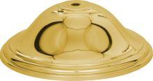 442-200/G - Kryt na poháre zlatý 20cm