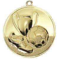Medaila futbal (pr.50mm) zlato