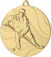 MMC3250/G - Medaila hokej (pr.50 mm, hr.3 mm) zlato