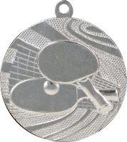 MMC1840/S - Medaila stolný tenis (pr.40 mm, hr.2 mm) striebro