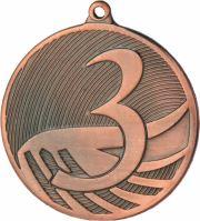 """MD1293/B - Medaila """"3"""" (pr.50 mm, hr.3 mm) bronz"""