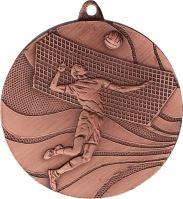 MMC2250/B - Medaila volejbal (pr.50 mm, hr.3 mm) bronz