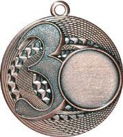 "MMC5057/B - Medaila ""3"" (pr.50 mm, hr.3 mm) bronz"