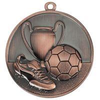 Medaila futbal (pr.50mm) bronz