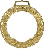 MGM9060/G - Medaila sklenená s puzdrom (pr.90mm) zlato