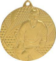 MMC6750/G - Medaila hokej (pr.50 mm, hr.2 mm) zlato
