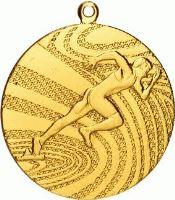 MMC1740/G - Medaila beh (pr.40 mm, hr.2 mm) zlato