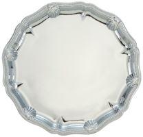 Tanier okrúhly strieborný pr. 26 cm