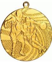 MMC1440/G - Medaila basketbal (pr.40 mm, hr.2 mm) zlato