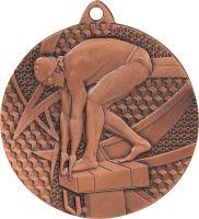 MMC7450/B - Medaila plávanie (pr.50 mm, hr.2 mm) bronz