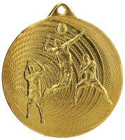 MMC3073/G - Medaila volejbal (pr.70 mm, hr.2 mm) zlato