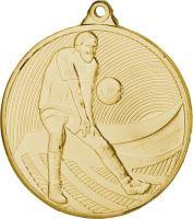 Medaila volejbal (pr.50mm) zlato